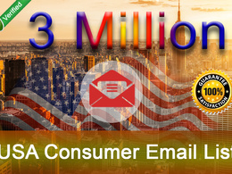 Give You 3 Million USA Consumer Email Lists for CPA / Marketing