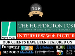 Publish INTERVIEW on Huffington HuffingtonPost.com with PICTURE
