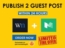 Publish your Guest post on WN.com or medium.com