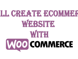 Create A Woocommerce Store On Wordpress