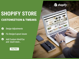 Do Shopify tweaks and customization
