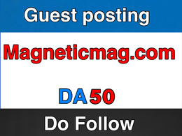 Publish on MagneticMag  – MagneticMag.com – DA 50
