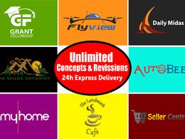 Design professional logo- free fevicon, concepts & all formats