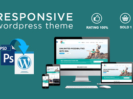 Convert your PSD to Responsive Wordpress theme using Bootstrap 3