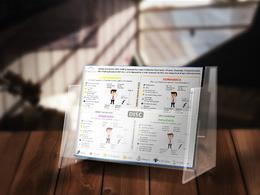 Create clean, Minimal amazing Infographics