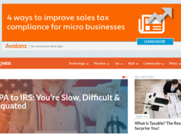 Publish a guest post on AccountingWeb.com, DA 65