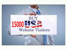 Provide 15000 quality USA / UK  traffic to your website