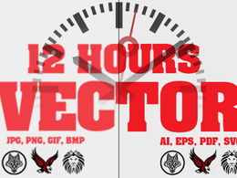 Vectorise or Vector Trace your logo Professionally in 12 hours
