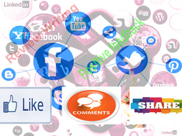 Drive all Social media page for 7 days