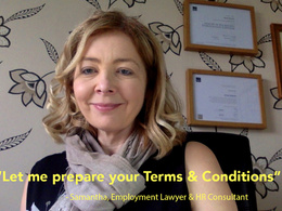 Provide customised terms & conditions for your business/website