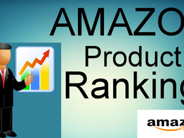 I Will Make Your Product Ranking On Amazon 1st Page