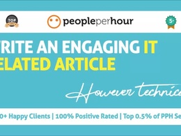 Write an engaging IT related article