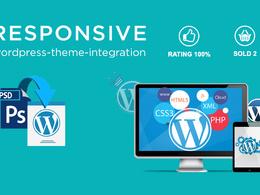 Wordpress Theme Integration