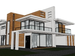 Draw any project (interior or exterior) in 3D Sketchup