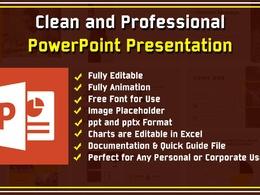 Design Professional PowerPoint Presentation || 20 Slides