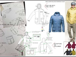 Create flat sketches of your clothing