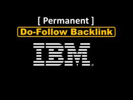 Publish a blog post on IBM - IBM.com - DA98, PA90, TF50