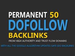 Build 50 Unique PR 10 Dofollow Backlinks On DA 100 Sites