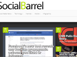 Publish Guest Post on Socialbarrel.com (DA 46) Dofollow