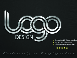 Design PROFESSIONAL AWESOME LOGO + Unlimited Revisions