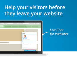 Integrate live chat on Wordpress, Squarespace, Magento websites