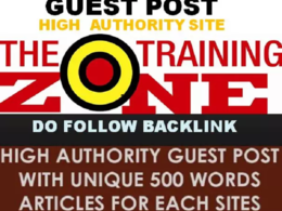 Provide Guest Post On Trainingzone.co.uk  _ !! Trainingzone !!