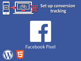 Install Facebook pixel code on your wordpress, html site