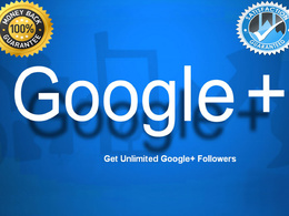 Get 500 Google+ Circle/Follow for Business Page Social Media