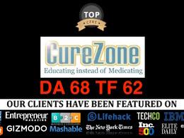 Publish Guest Post On Curezone.org  Da60 Tf62 Dofollow Health