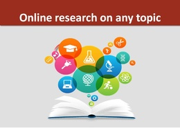 Provide Online Research On Any Topic for 2 hour