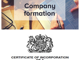 Company Formation (UK Ltd Company) - Fee included