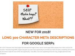 Write 15 long Google friendly meta descriptions to boost CTR