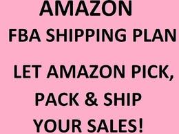 Create an FBA shipping plan (Fulfilled By Amazon / Amazon Prime)