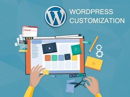 Provide 1 hour of updates, customization on your wordpress site