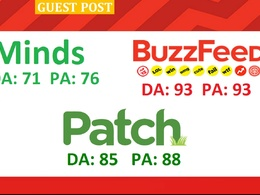 Publish permanent Guest post BuzzFeed, Patch And Minds