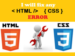 Fix any kind of HTML, CSS, Responsive errors on your website