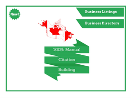 Create 30 Manual business listings Including all your biz detail