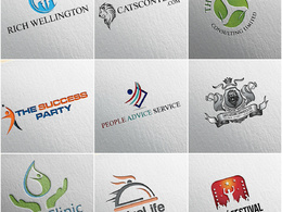 Design a Bespoke Logo+Unlimited Revisions+Favicon+Source files