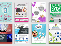 Design your bespoke flyer/poster