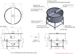 Provide CAD drawing for Manufacture