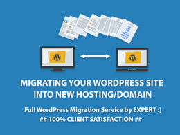 Migrate your WordPress site to a new host or domain within 24hrs