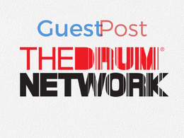 Publish a guest post on Thedrum - Thedrum.com - DA81, PA84, TF56