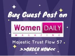 Publish guest post on womendailymagazine.com