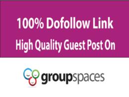 Publish HQ Dofollow Guest Post On Da75 Groupspaces