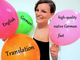 Happy with English to German translation