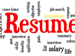 Create a tailor-made resume or re-touch an existing CV