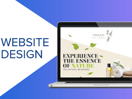Design your bespoke homepage template (PSD FILE ONLY)