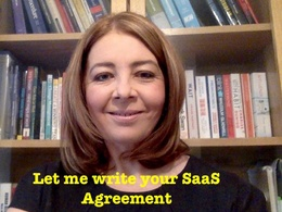 Draft a bespoke SaaS agreement  - legally compliant with GDPR