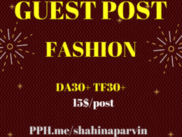 Fashion Niche Guest Posting