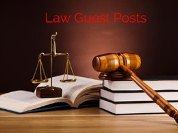 Write And Guest Post On My Law Blog